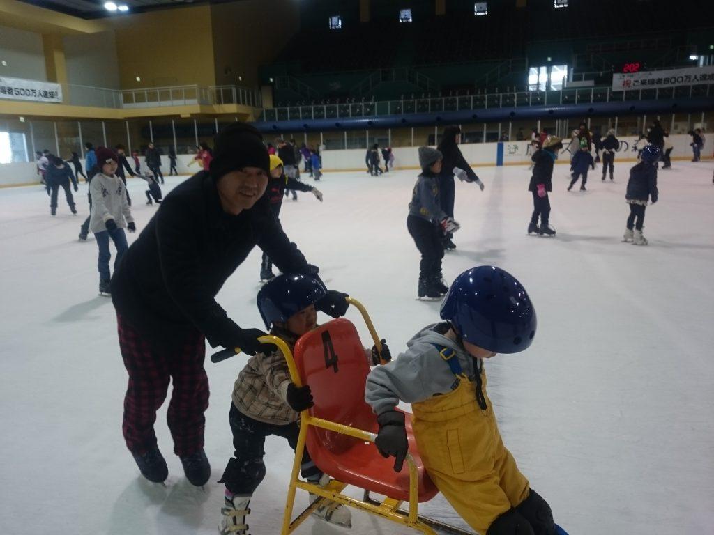 室内アイススケート:尼崎スポーツの森