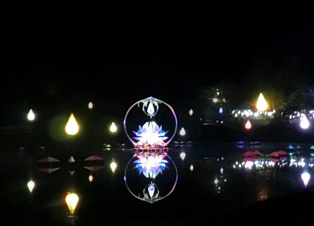 るり渓温泉 シナスタジアヒルズ ドライブ デート イルミネーション