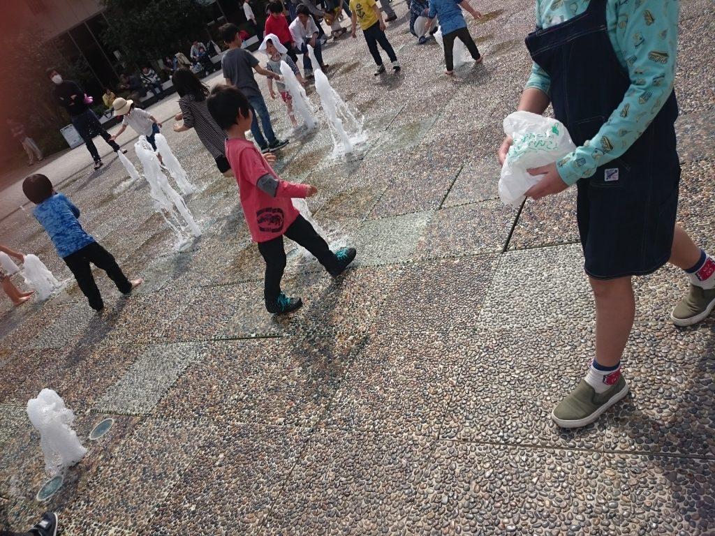 買い物ついでに無料で水遊びできるスポット3つ!(伊丹・西宮・尼崎)