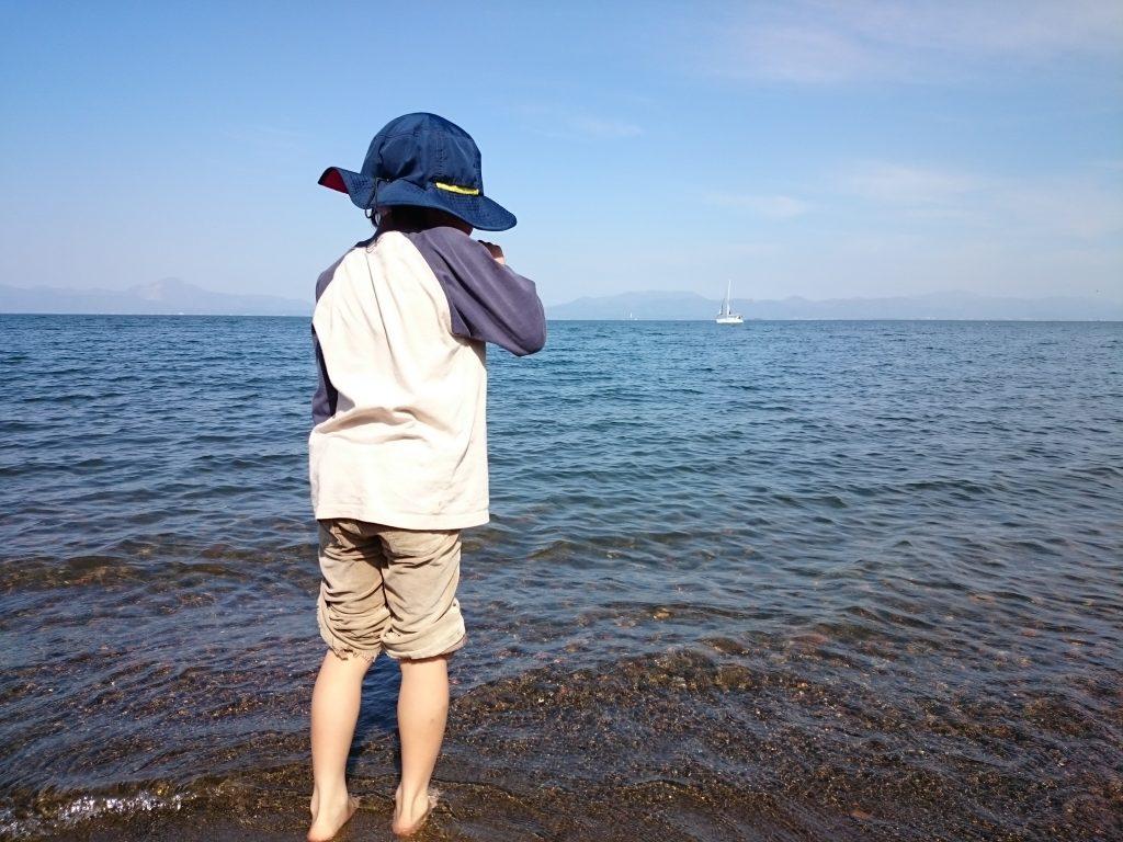 お勧め琵琶湖キャンプ 水遊び 滋賀県 こどもの国