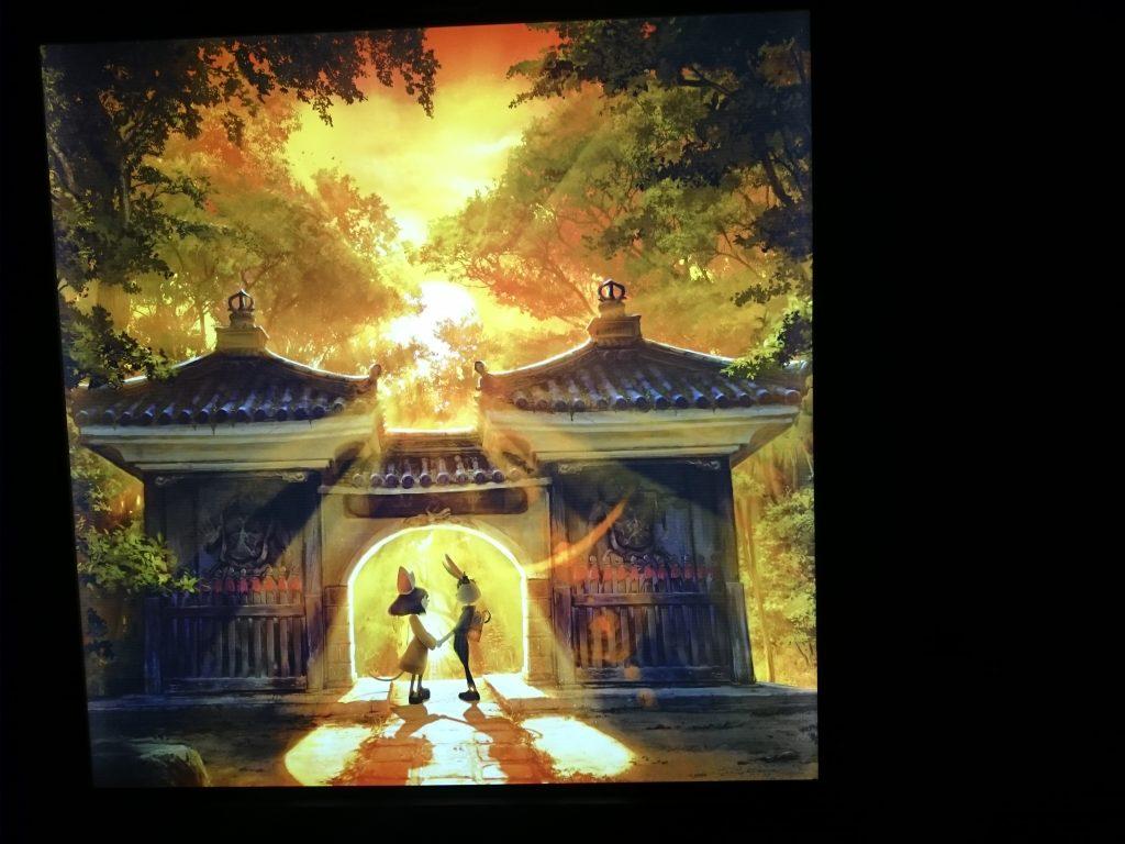キングコング西野さんの地元という事で、 兵庫県川西にある「満願寺」で、西野亮廣の個展『チックタック ~光る絵本展と光る満願寺展~