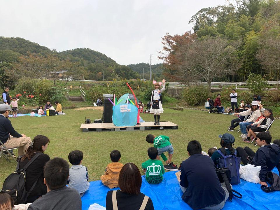 西谷収穫祭 バルーンアート HAPPYバルーンNANA
