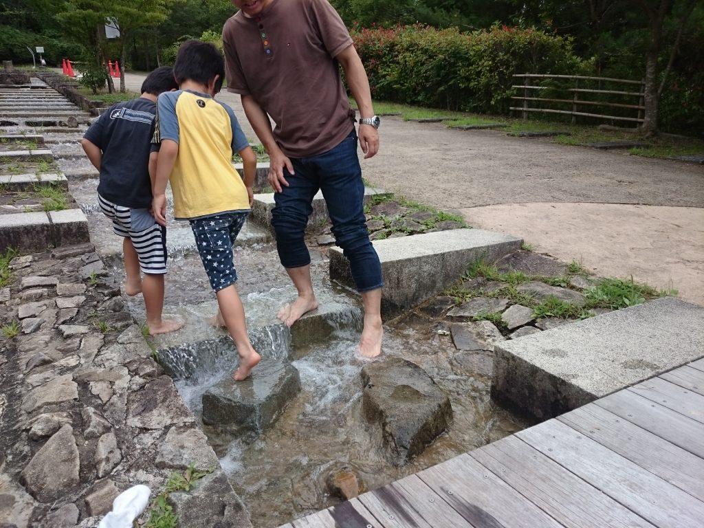 三田 水遊び 無料 有馬富士公園はお勧め