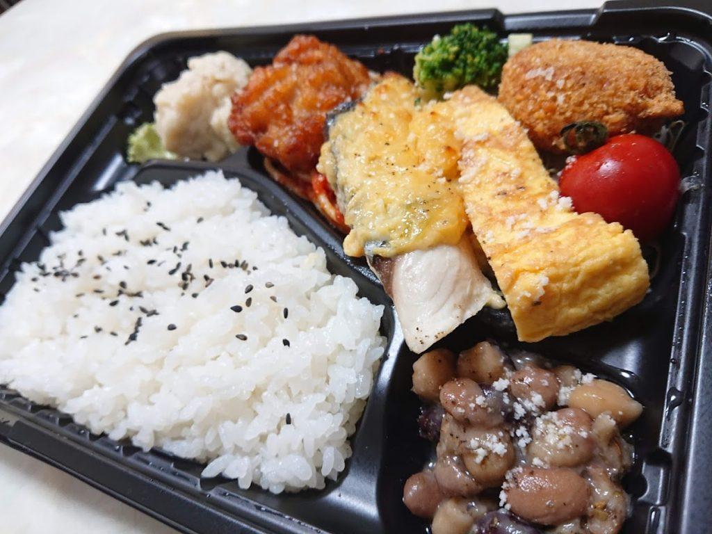 ワイン食堂 エノテカバッコ  鰆の白味噌タルタル弁当 800円