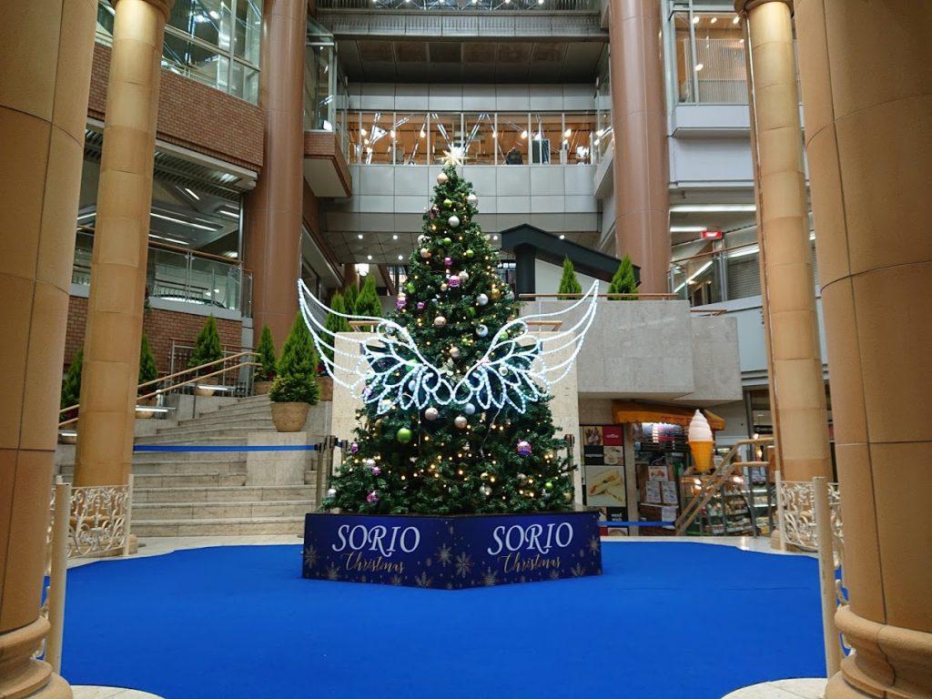 ソリオ宝塚 クリスマスツリー