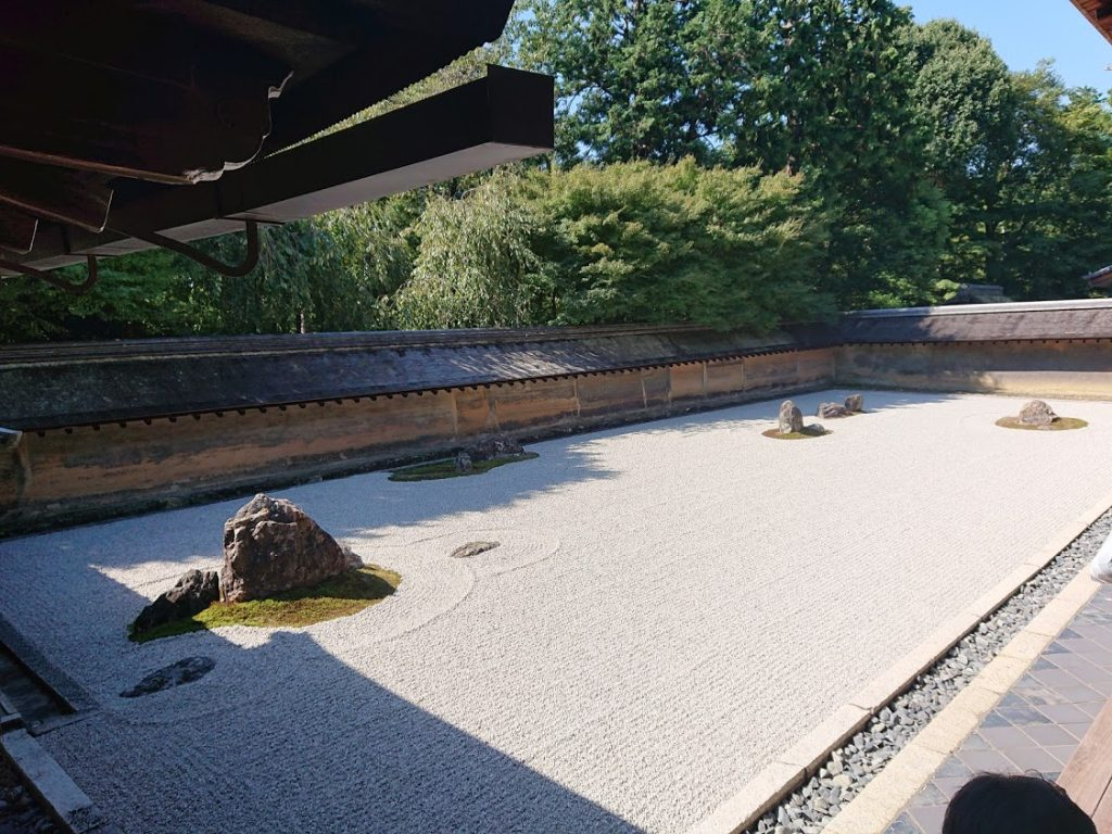 金閣寺も清水の舞台