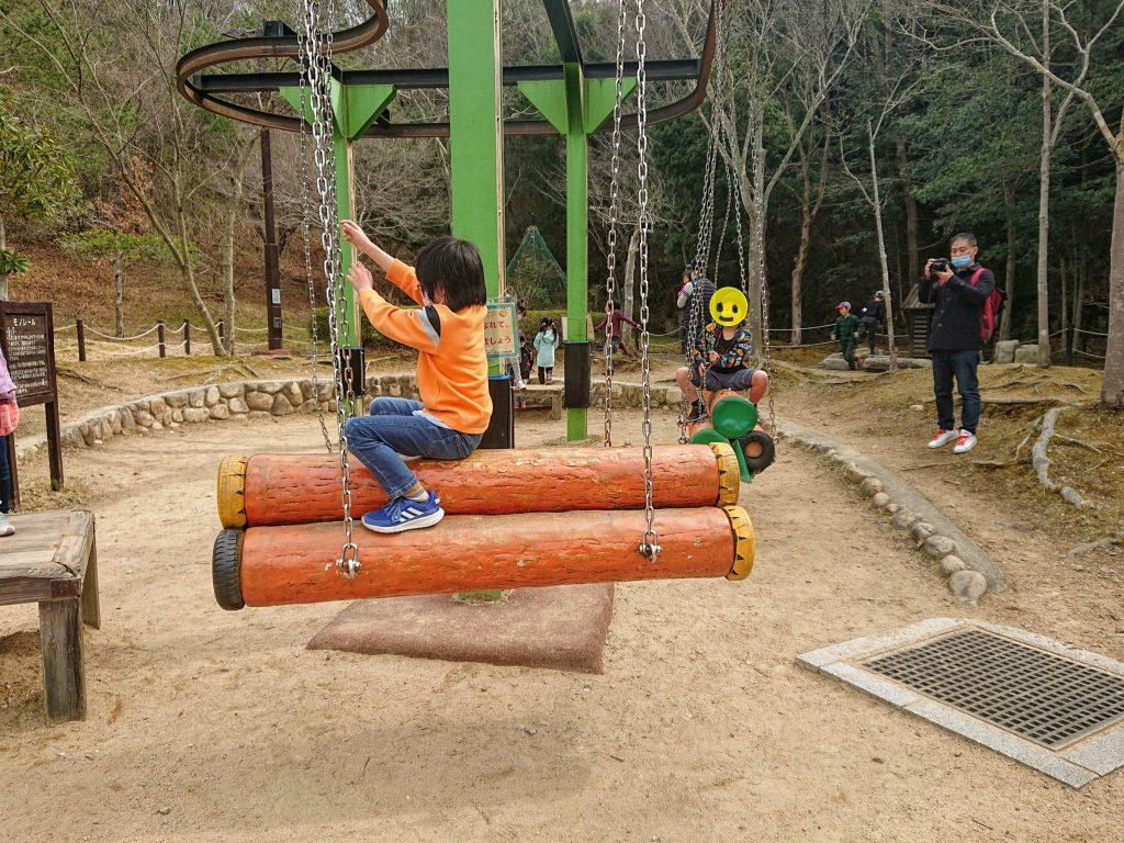 無料遊具でもアトラクション的に楽しめる!神戸市の公園 トリム園地へ。神戸市の施設しあわせの村 入場無料の大型公園