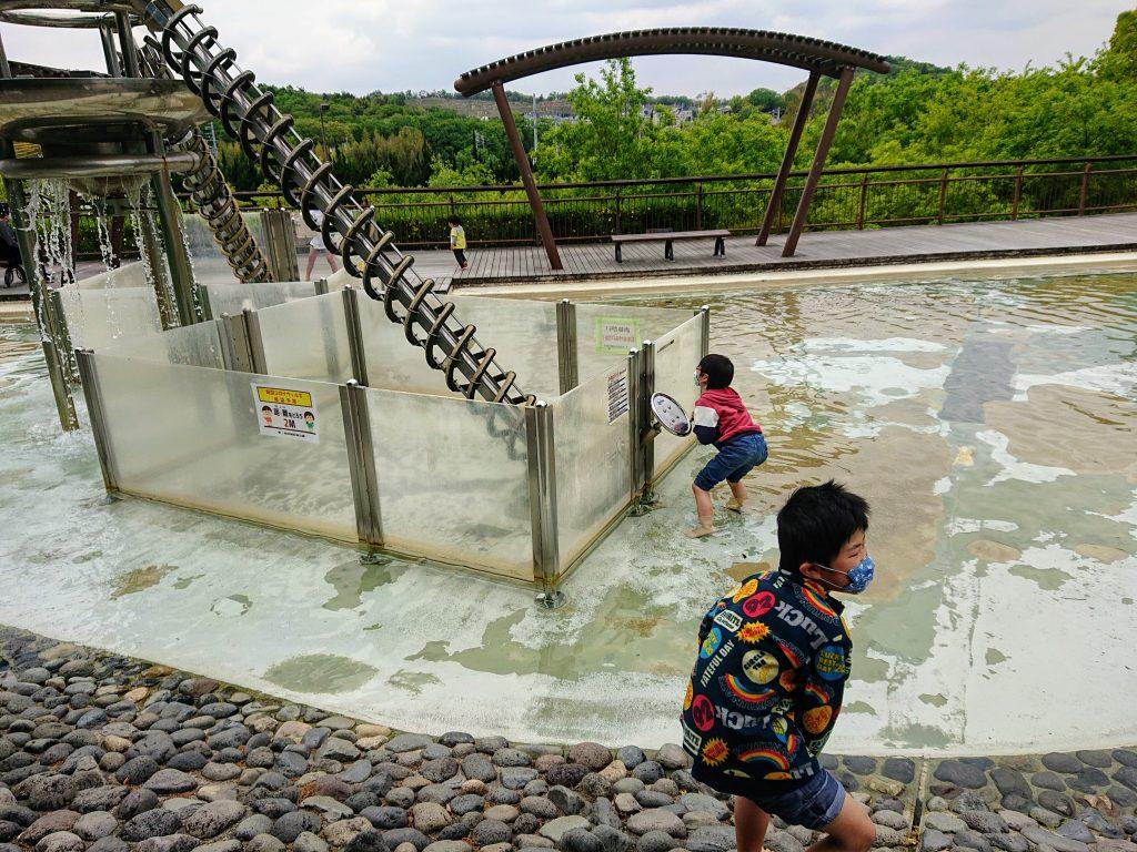 大型遊具 無料あそび場 水遊び 愛知 名古屋 愛・地球博記念公園(モリコロパーク)