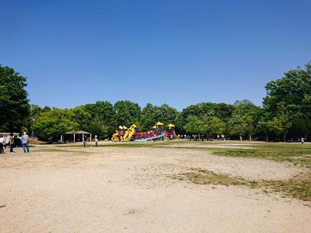 小幡緑地 名古屋 公園あそび