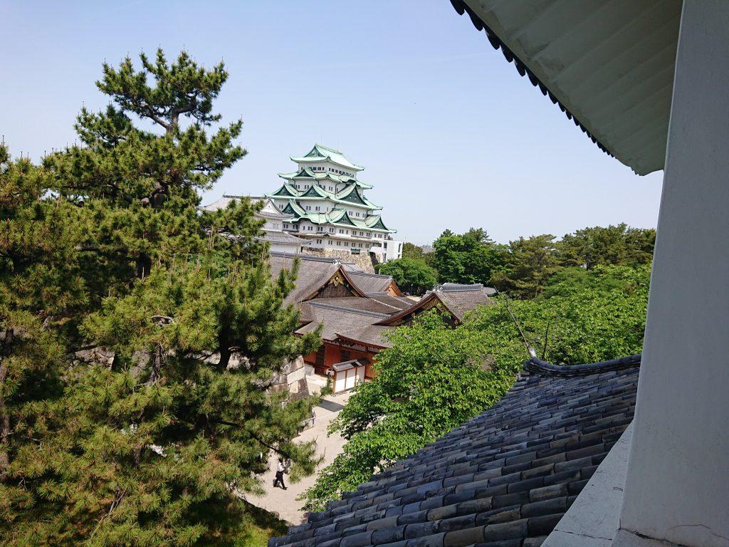 櫓からの景色 名古屋城