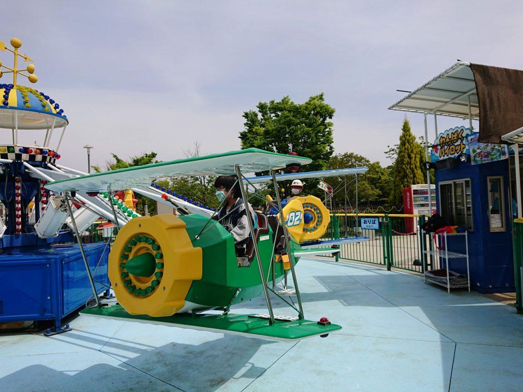 刈谷ハイウェイオアシス 100円遊園地?!に、大型遊具、グルメ・温泉も。