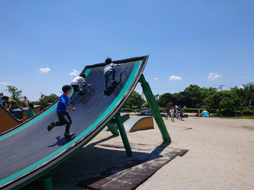 愛知 名古屋 おでかけ 海南こどもの国 遊具 アスレチック遊具 ゴーカート ボート 無料