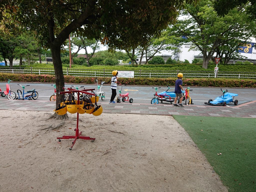 名古屋 無料 変形自転車 ゴーカート 愛知県東海市 平地公園